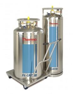 Контейнеры для жидкого азота серии Thermo