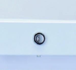 Все модели серии ES оснащены стандартными дверными замками